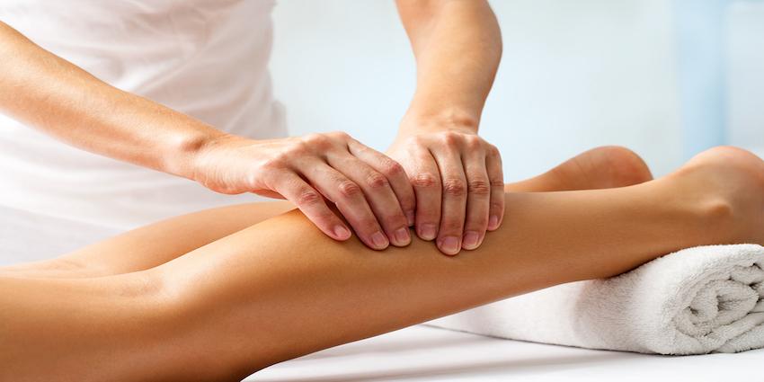 calf and quad tightness massage